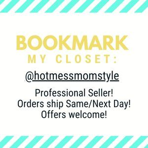 """Other - """"Like"""" to Bookmark my Closet!"""